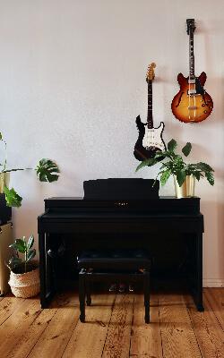 Guitars and piano