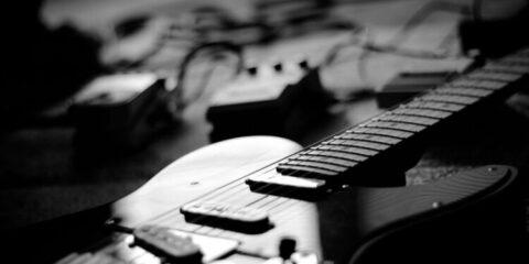 DLP-124S electric guitar donner
