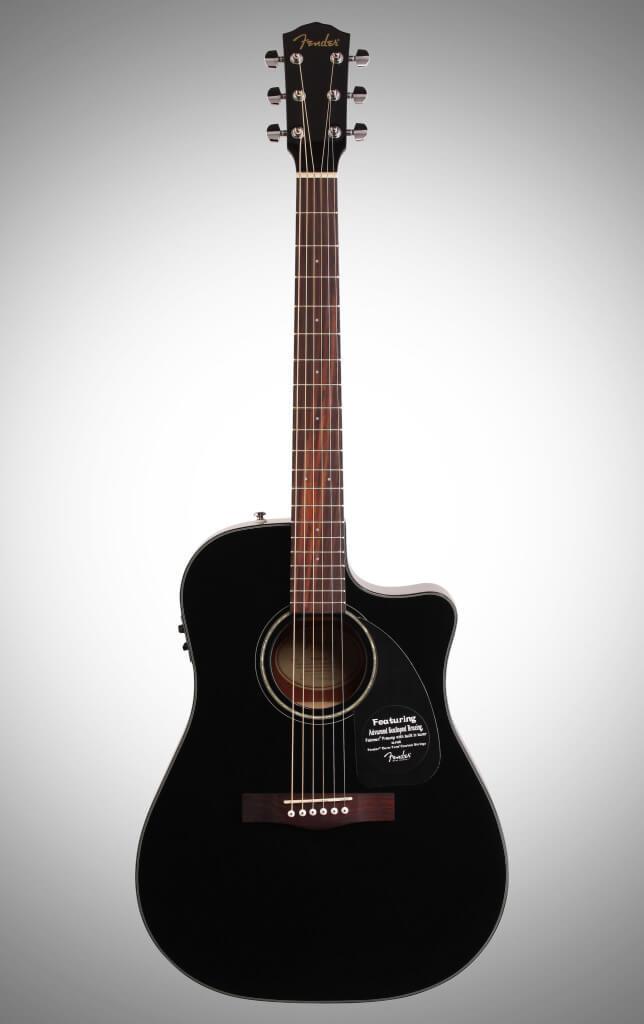 Fender Full-Size Electro Acoustic Guitar DG60CE Black